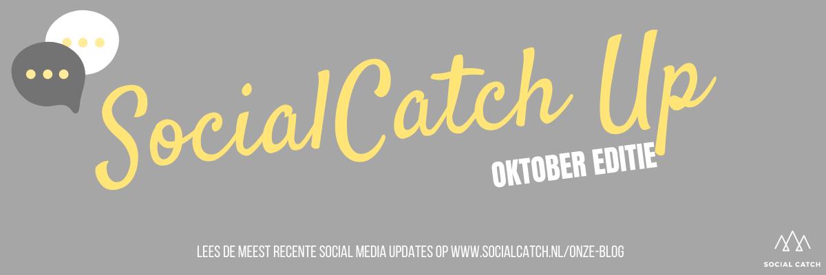 Social media updates in Social Catch Up Oktober